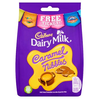 British Chocolate - Cadbury Caramel Nibbles