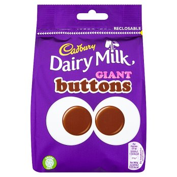 British Chocolate - Cadbury Giant Buttons Pouch