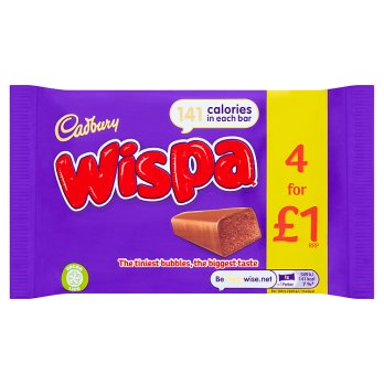 British Chocolate - Cadbury Wispa Multipack