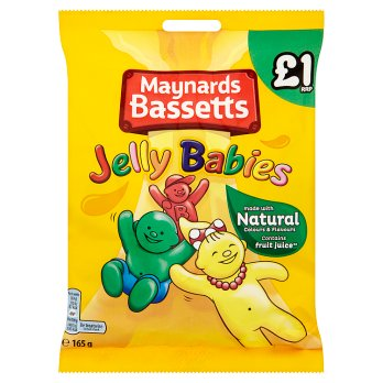 British Sweets - Bassetts Jelly Babies