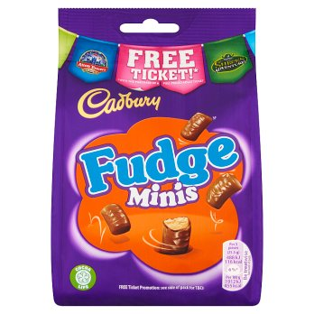 British Chocolate - Cadbury Fudge Mini Pouch
