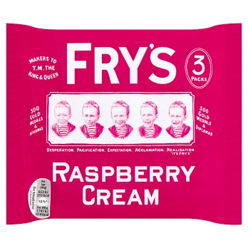 British Chocolate - Frys Raspberry Cream