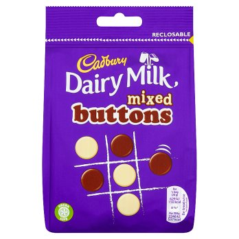 British Chocolate - Cadbury Mixed Buttons Pouch