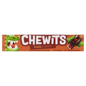 British Sweets - Chewits Cola