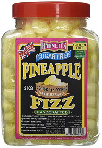 British Sweets - Barnetts Pineapple Fizz