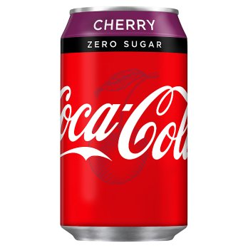 British Drinks  - Cherry Coke Zero