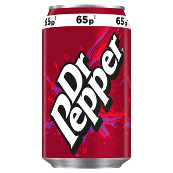 British Drinks - Dr Pepper Cans