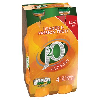 British Drinks - J20 Orange & Passion