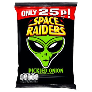 British Crisps - Space Raiders