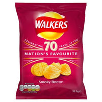 British Crisps - Walkers Smokey Bacon