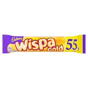 British Chocolate - Cadbury Wispa Gold