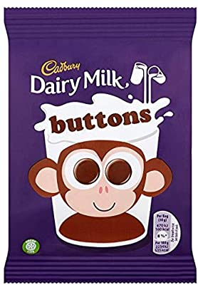 British Chocolate - Cadbury Buttons 30g
