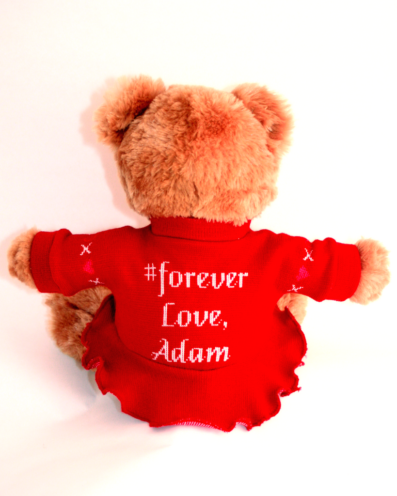 i love you teddy bear | best valentines gift | made in usa – message