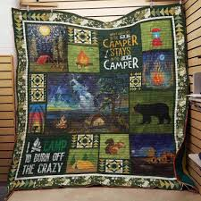 Camping Quilt Blanket#10