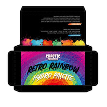 Load image into Gallery viewer, Retro Rainbow Hydro Palette **RESTOCK LATE APRIL!**