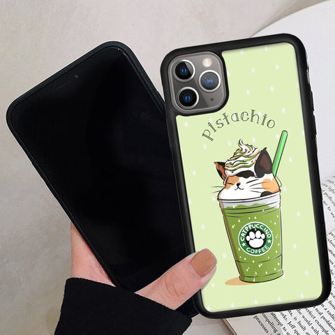 Pistachio Cat - Phone Case