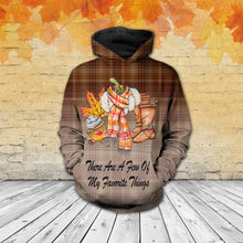 Load image into Gallery viewer, TT-HA Standard Printed Allover Hoodie And Sweater - There Are A Few Of My Favorite Things