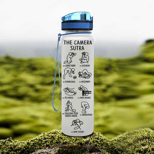 Camera Sutra Water Tracker Bottle