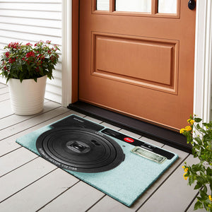 Camera Leica Light Blue Doormat
