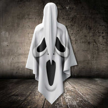 Load image into Gallery viewer, White Ghostface AllOver Unisex Cloak