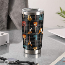 Load image into Gallery viewer, TR-DM Design Vacuum Insulated Tumbler - Guitar Gibson