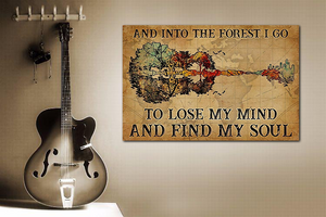 TR-DM Horizontal Printed Canvas - Into The Forest I Go