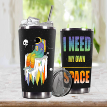 Load image into Gallery viewer, TR-DM Design Vacuum Insulated Tumbler - I Need My Own Space