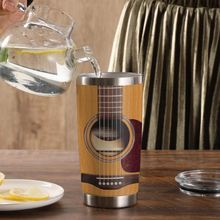 Load image into Gallery viewer, TR-TN Design Vacuum Insulated Tumbler - I Play Guitar And I Know Things