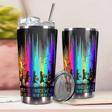 Load image into Gallery viewer, TT-HA Design Vacuum Insulated Tumbler - Black Cat Into The Darkness