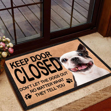 Load image into Gallery viewer, French Bulldog Funny Quote Doormat