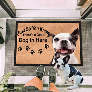 French Bulldog Funny Quote Doormat