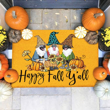Load image into Gallery viewer, Dogs German Shepherd Happy Fall Doormat