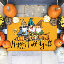 Load image into Gallery viewer, Dogs Poodle Happy Fall Doormat