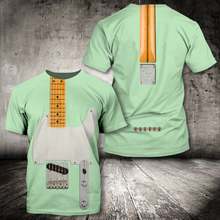 Load image into Gallery viewer, H-LK Standard Printed Combo Allover T Shirt - Electric Guitar