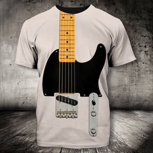 H-LK Standard Printed Combo Allover T Shirt - Electric Guitar
