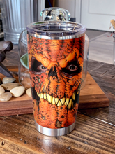 Load image into Gallery viewer, H-LK Design Vacuum Insulated Tumbler - Pumpkin Monster