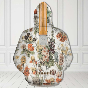 H-LK Standard Printed Combo Allover 3D Tops - Flowers Electric Guitar
