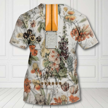 Load image into Gallery viewer, H-LK Standard Printed Combo Allover 3D Tops - Flowers Electric Guitar