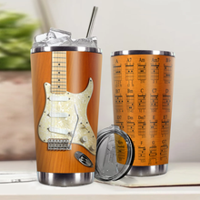 Load image into Gallery viewer, H-LK Design Vacuum Insulated Tumbler - Electric Guitar 1964