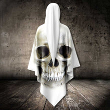 Load image into Gallery viewer, Skull 3D AllOver Unisex Cloak