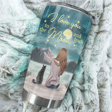 Load image into Gallery viewer, TT-HA Design Vacuum Insulated Tumbler - I Love You To The Moon And Back