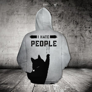 TT-HA Standard Printed Combo Allover T-Shirt - I Hate People
