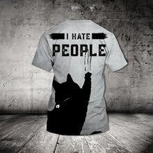 Load image into Gallery viewer, TT-HA Standard Printed Combo Allover T-Shirt - I Hate People