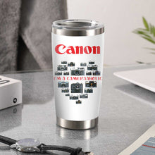 Load image into Gallery viewer, Canon Cameraaholic Tumbler