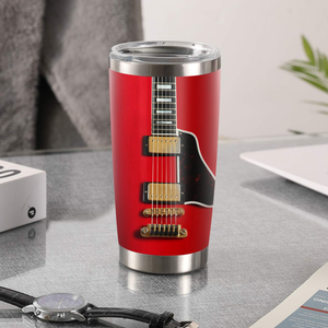 H-LK Design Vacuum Insulated Tumbler - Red Guitar 1964