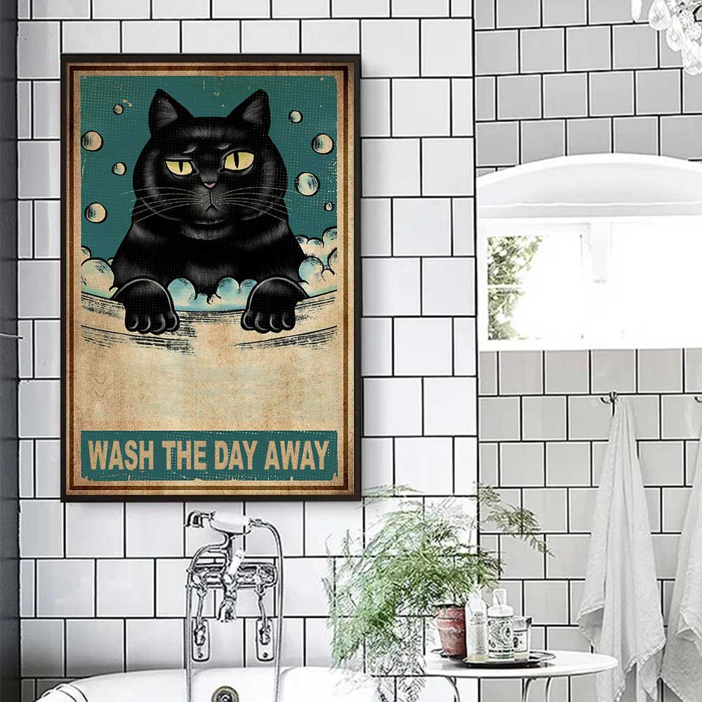 Wash The Day Away Wall Decor Canvas