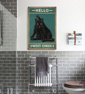 TT-HA Vertical Printed Canvas - Hello Sweet Cheeks