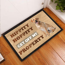 Load image into Gallery viewer, Get Off My Property Labrador Doormat
