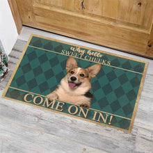 Load image into Gallery viewer, Corgi Dog Come On In Doormat