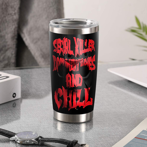 H-LK Design Vacuum Insulated Tumbler - Serial Killer Mask